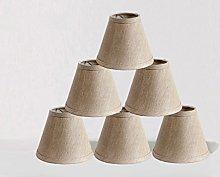 ONEPRE Clip On Chandelier Lamp Shades, Hardback