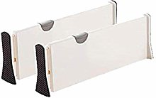 Onerbuy Pack of 2 Extendable Drawer Organizer