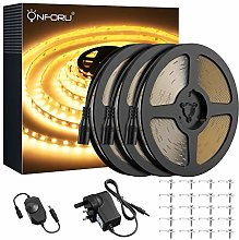 Onforu 15M Dimmable LED Strip Lights Kit, 3000K