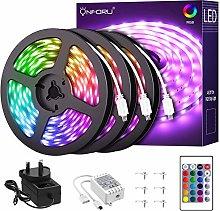 Onforu 15m LED RGB Strip Lights, 50ft Flexible