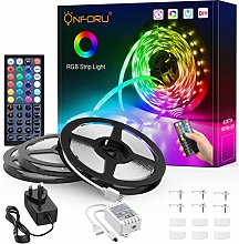 Onforu 15m LED Strip Lights Kit, RGB Colour