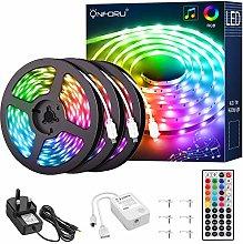 Onforu 15M RGB LED Strip Lights, Music