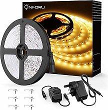Onforu 5M Warm White LED Strip Lights Kit,