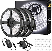 Onforu Dimmable LED Strip Lights White, 15M
