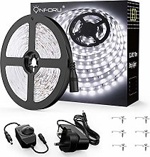 Onforu White LED Strip Lights 10M, Dimmable 5000K