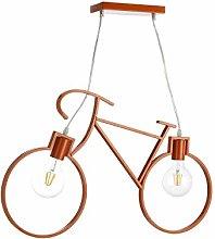 Onli Bike Suspension Lamp Metal Orange