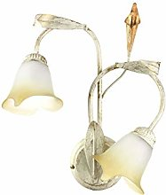 ONLI Wall Light with 2 Lights in Metal Ivory and