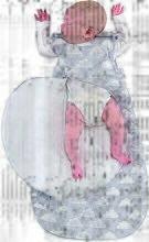 Online Exclusive SNÜZ Grey Cloud Sleep Bag - 0-6