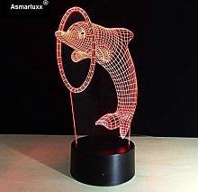 Only 1 Dolphin Night Lamp Art Deco Lamp Amazing