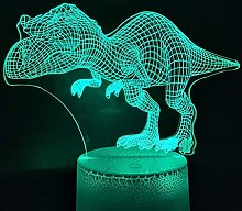 Only 1 pcs 2020 Multi-Color 3D Lamp Operated Big