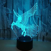 Only 1 Piece 3D Creative Small Table Lamp Led