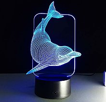 Only 1 Piece 3D Illusion Led Night Light Colors