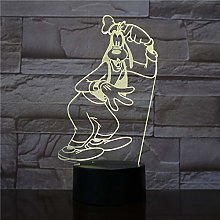 Only 1 Piece 3D Lamp esome Touch Sensor and
