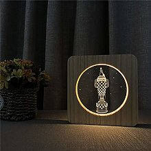 Only 1 Piece 3D LED Acrylic Night Light for