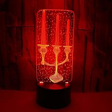 Only 1 Piece 3D LED Decorative Lighting Candle