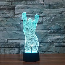 Only 1 Piece 3D Led Desk Lamp USB Touch Energy