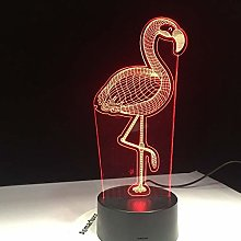 Only 1 Piece 3D Led Lamp Kids Birthday Gift Night