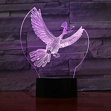 Only 1 Piece 7 Color Changing Festival LED Night