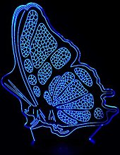 Only 1 Piece Acrylic Panel Beautiful Butterfly