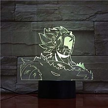 Only 1 Piece Arrival Dragonball Brolly 3D LED Lamp