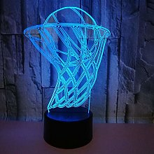 Only 1 Piece Basketball 3D Lamp Sports Gifts