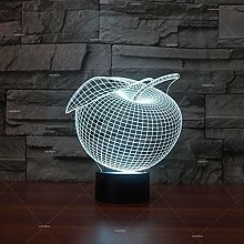 Only 1 Piece Bedside Night led 3D lamp Creative