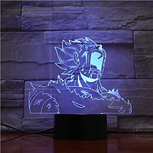Only 1 Piece Brolly Dragonball 3D LED Lamp