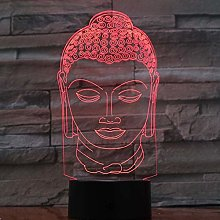 Only 1 Piece Buddha Lamp Color Changing Night Lamp