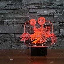 Only 1 Piece Crab Light Emitting Gift Led Desk