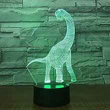 Only 1 Piece Dinosaur 3D LED Lamp Night Lamp for
