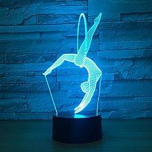 Only 1 Piece Eurhythmics 3D Lamp Led Night Lamps
