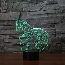Only 1 Piece Horse Shaped Led Desk Lamp Gifts