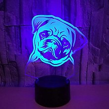 Only 1 Piece Korean Table lamp Sharpie Dog Remote