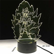Only 1 Piece LED Lighting Gift Seven Son Acrylic