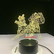 Only 1 Piece Legend 3D LED Lampable Mood Lamp LED