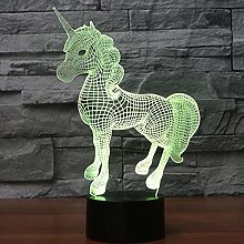 Only 1 Piece Modeling Creative 3D Table Lamp Led