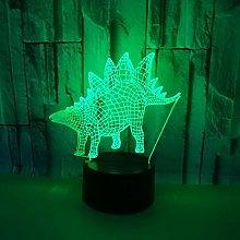 Only 1 Piece New 3D Dinosaur Desk Lamp Lantern
