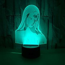 Only 1 Piece New Notre Dame 3D Lamp Touch Led