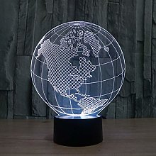 Only 1 Piece Novelty Product Earth Acrylic 3D
