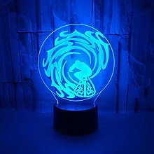 Only 1 Piece Popular Creative 3D Night Lamp Gift