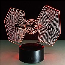 Only 1 Piece TIE Fighter Color Changing Light Cool