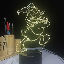 Only 1 Piece USB Lamp Duck LED Night Light Bedroom
