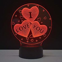 Only 1 Piece Valentine's Day Gifts Night Light