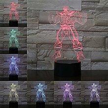 Only 1 Superhero 3D Lamp Night Light LED Bulb