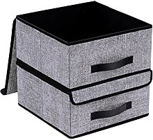 Onlyeasy Foldable Storage Bins Cubes Boxes with