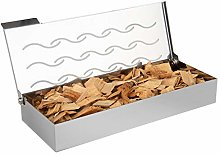 Onlyfire BBQ Smoker Box for Wood Chips with Hinged