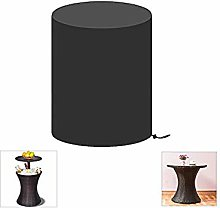 Onlyme Patio Cool Bar Cover Round - Wicker Ice