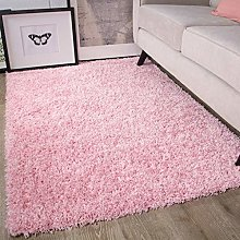 Ontario Baby Pink Soft Warm Thick Shaggy Shag