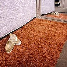 Ontario Terracotta Orange Bedside Bedroom Floor