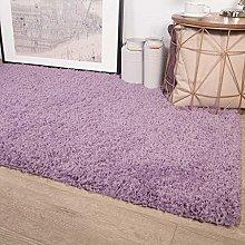 Ontario Violet Purple Soft Warm Thick Shaggy Shag
